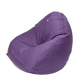 Кресло мешок Груша XXL | рогожка Queens INK