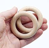 Деревянные кольца 55/10 мм для слингобус и грызунков, бук, фото 3