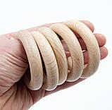 Деревянные кольца 55/10 мм для слингобус и грызунков, бук, фото 4
