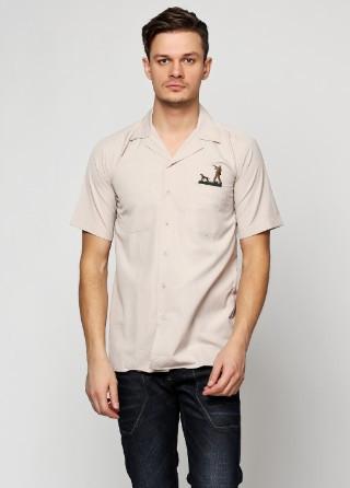 Тениска ERSAV S коричневый (AvelHunter)