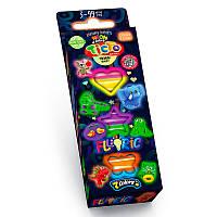 """Тісто для ліпки """"Fluoric"""" TMD-FL-7-01U, 02U (7 кольорів)"""