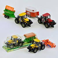 Трактор з причепом (інерція) 4066А-8066А-9066А-10