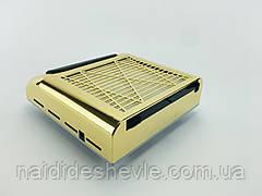 Вытяжка маникюрная BQ-858-8, 80 Вт. Золотой