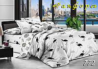 Двуспальное  постельное белье ТЕТ-А-ТЕТ 772 ранфорс