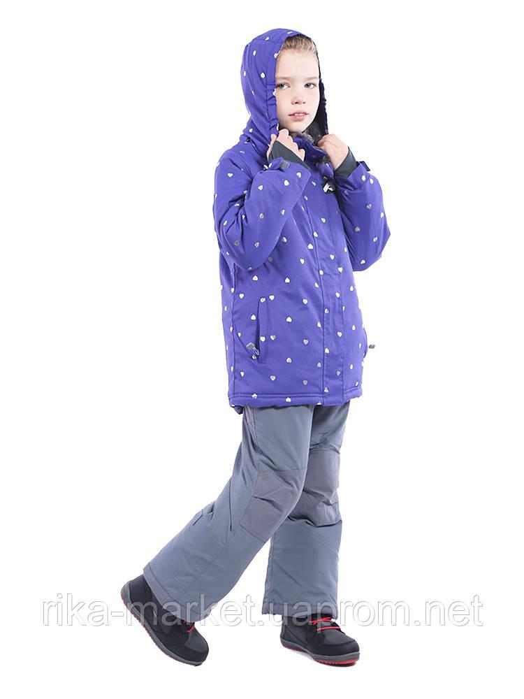 Термо Комплект куртка и полукомбинезон для девочки Perlim Pinpin.  арт. VH264 С 12 - 24 мес.