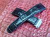 Ремешок из теленка с принтом крокодила для часов Maurice Lacroix