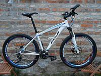 Уникальная сборка горного агрессивного велосипеда на основе рамы Fuji Nevada 1.5