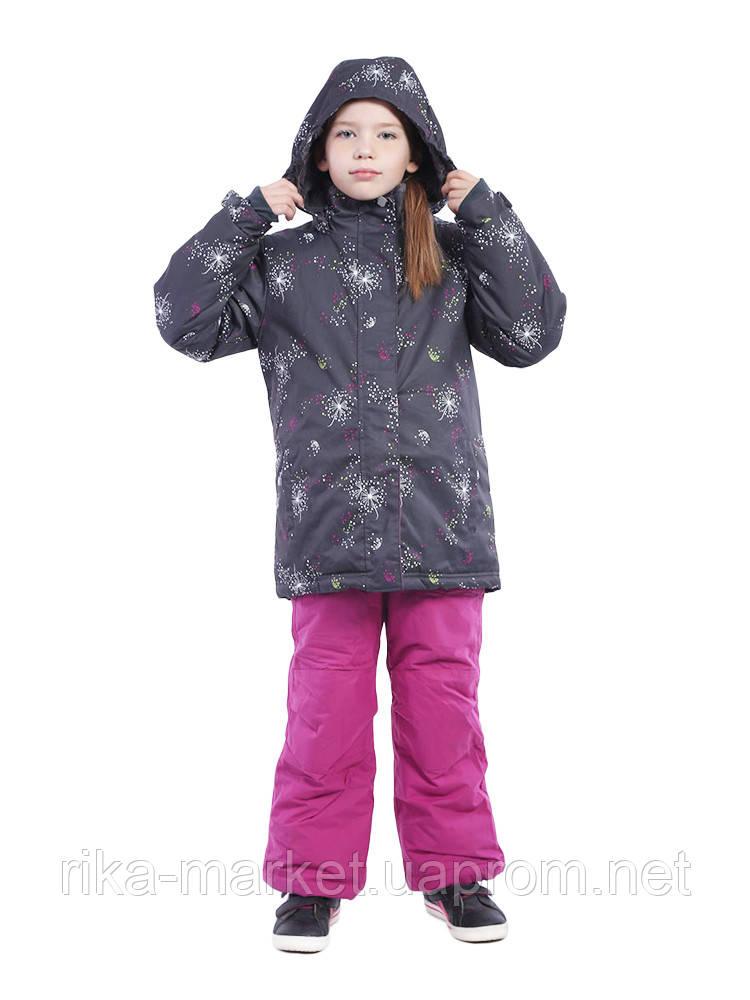 Зимний термо комплект для девочки Perlim Pinpin.  арт. VH264 В-1 4 - 12 лет