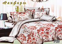 Двуспальное  постельное белье ТЕТ-А-ТЕТ 762 ранфорс