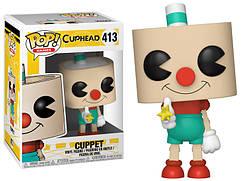 Фигурка Funko Pop Фанко Поп Чашкоголовый Каппет Cuphead Cuppet 10 см Games C C 413