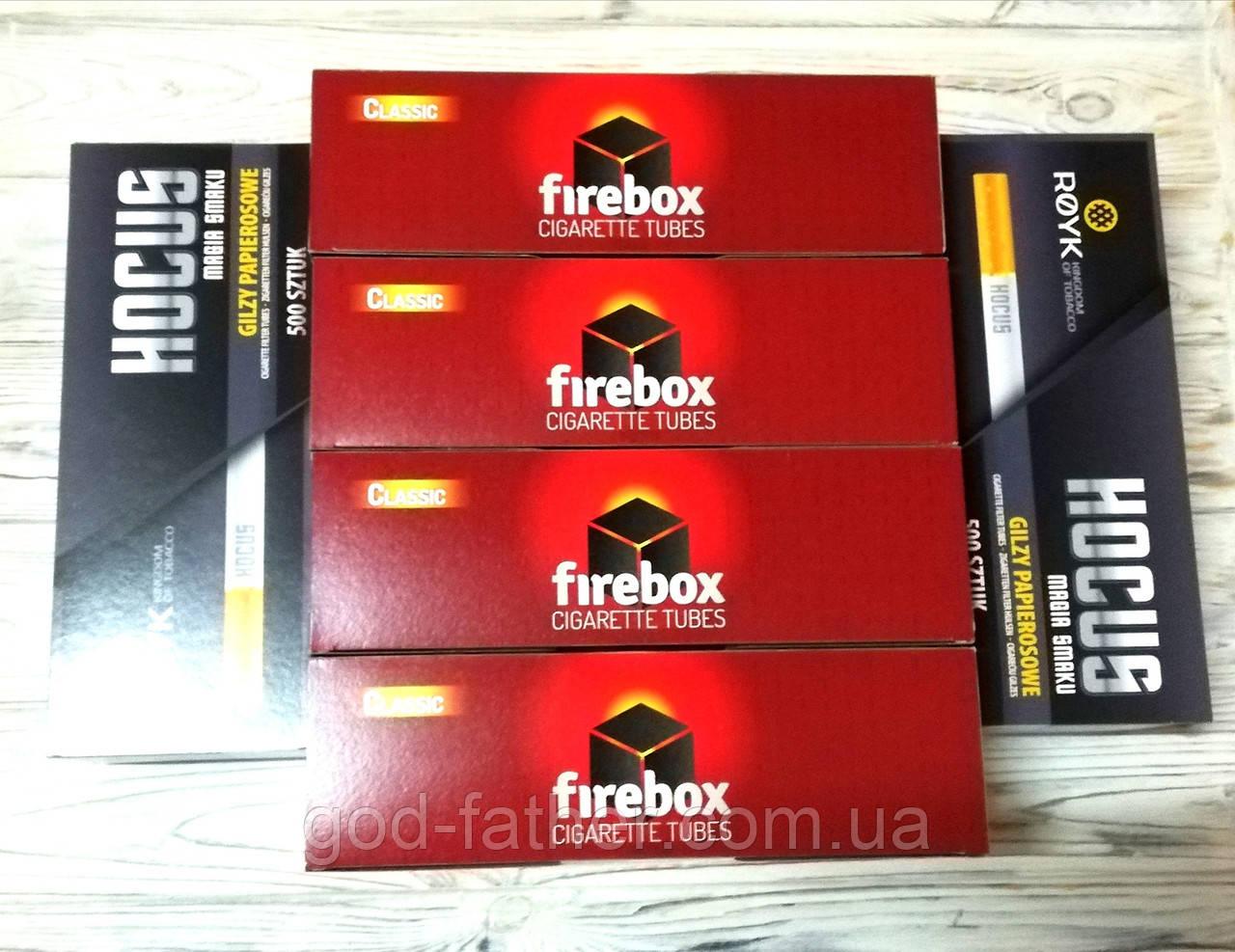 Сигаретные гильзы 3000 гильз Firebox и Hocus