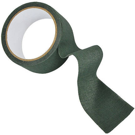 Лента маскировочная оливковая MilTec 15934001, фото 2
