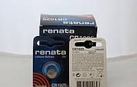 Часовая батарейка Renata CR1025