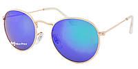 Солнцезащитные очки Ray Ban Round 3448P 112-19 Blue (хамелеон) поляризационные