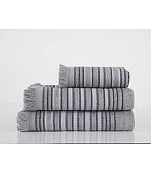 Полотенце Irya - Serin 75*140 Серый