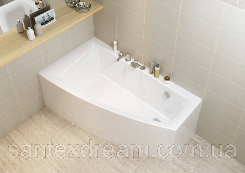 Ванна Cersanit Virgo Max 160x90 левая