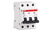 Модульный автоматический выключатель ВА2 3Р 2А С 4,5кА  тм СТС