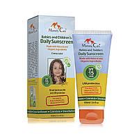 Органический солнцезащитный детский крем для ежедневного применения (SPF-15, 100 мл, ENG)