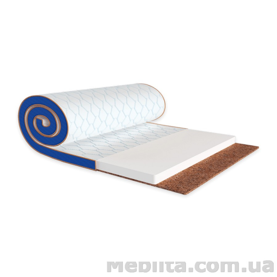 Мини-матрас Sleep&Fly mini FLEX 2в1 KOKOS стрейч 120х190 ЕММ