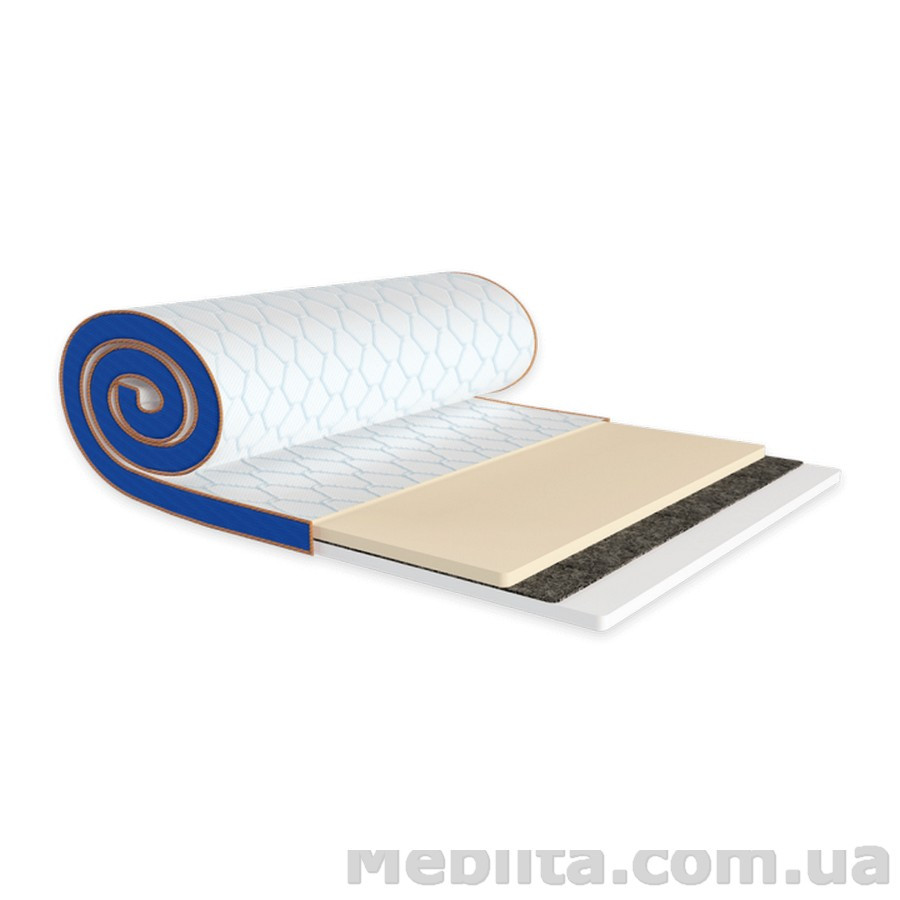 Мини-матрас Sleep&Fly mini MEMO 2в1 FLEX стрейч 120х190 ЕММ