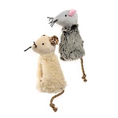 Игрушка Comfy для кошек мышка с кошачьей мятой, 10.5 см