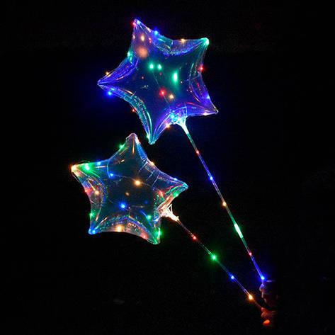 Светодиодный шар бобо bobo на палке Звезда   ПОШТУЧНО, фото 2