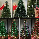 Гирлянда конусная на елку 48 led Christmas lights, фото 9