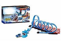 Игровой набор трек «Акула» с машинкой., фото 1