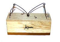 Мышеловка Amex из дерева двойная, фото 1