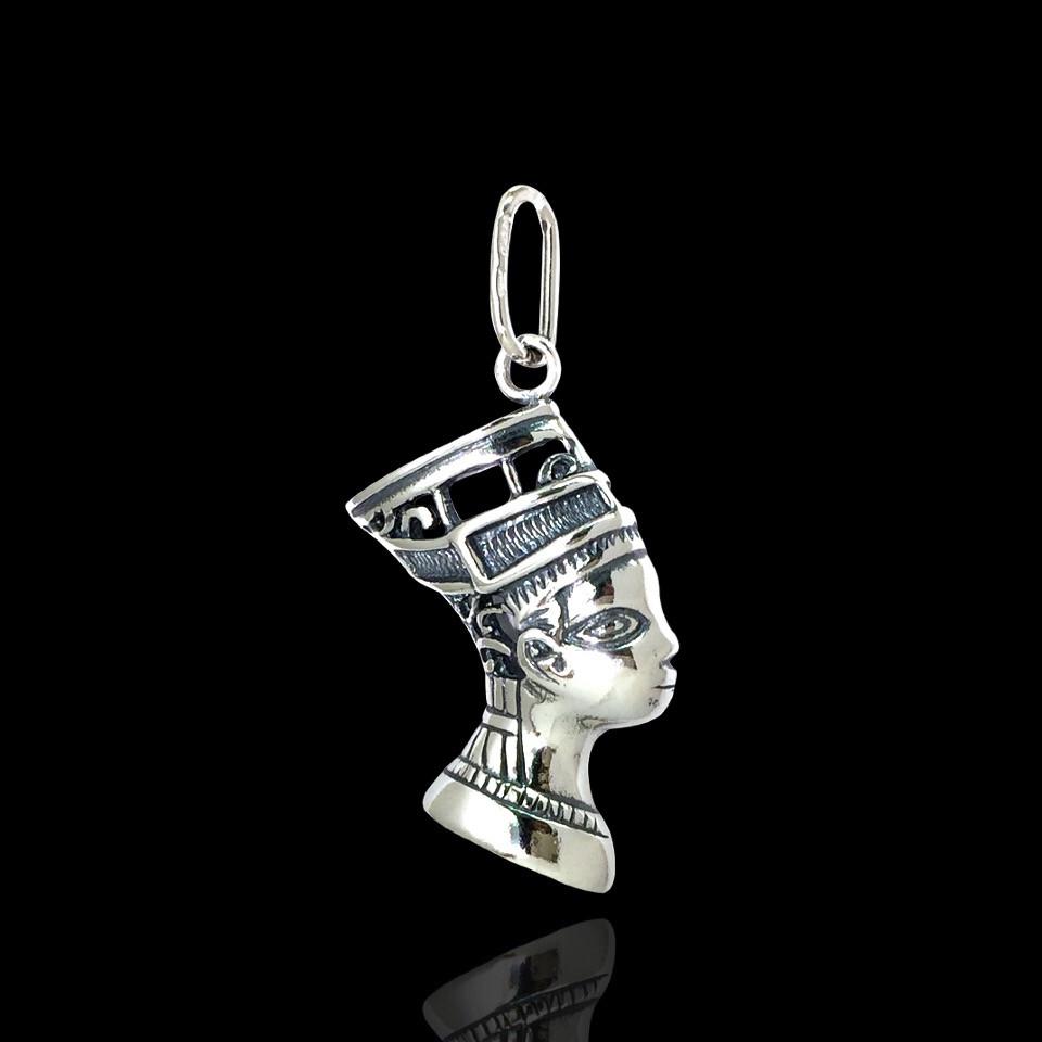 Серебряная подвеска Клеопатра