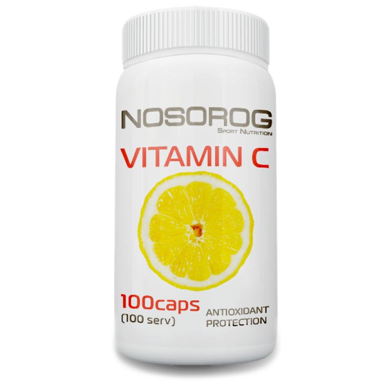 Витамины NOSOROG VITAMIN C 500мг 100 капсул
