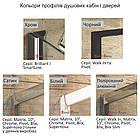 Душевая кабина полукруглая Ravak Blix BLCP4 Transparent раздвижная четырехэлементная, фото 5