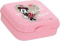 Ланч-бокс 5x15x15 см Disney Minnie Mouse Herevin XB-161456-022