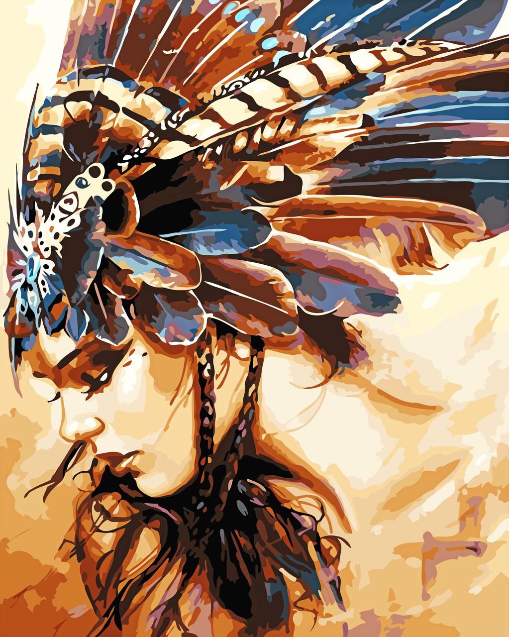 Художественный творческий набор, картина по номерам Принцесса племени, 40x50 см, «Art Story» (AS0560)