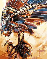 Художественный творческий набор, картина по номерам Принцесса племени, 40x50 см, «Art Story» (AS0560), фото 1