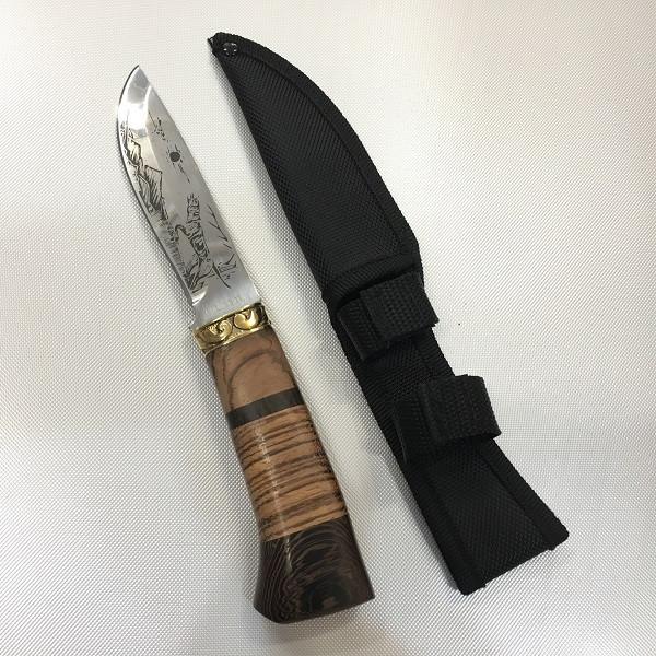 Охотничий нож с чехлом FB1022 / АК-5 (23см)