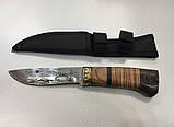 Охотничий нож с чехлом FB1022 / АК-5 (23см), фото 3