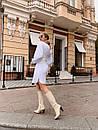 Платье рубашка из софта с широким поясом 60plt348, фото 4