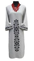 Вышитые женские платья