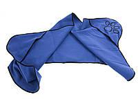 R3-270132, Полотенце для животных, 40х80 см, 1 шт., , синий