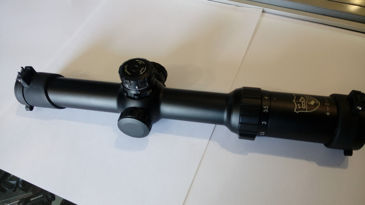 Оптический прицел CCOP SCP 1-4х24i  загонник