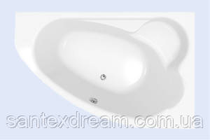 Ванна Cersanit Calabria 170x110 правая