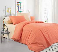 Комплект постельного белья Mix 1+2ЭКО перкаль простыня на резинке