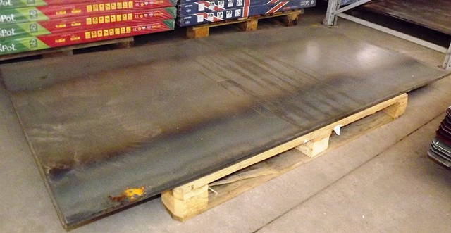 Лист стальной г/к (горячекатаный), 2-мм 1мХ2м