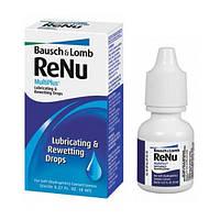 Капли Renu Multiplus, 8ml (Увлажняющие капли Реню Мультиплюс) Bausch & Lomb