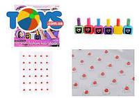 """Детский набор косметики """"Мел для волос"""", неоновые цвета, JX20025"""
