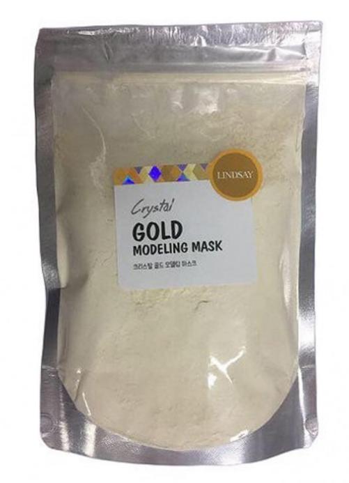 Альгинатная маска для лица с коллоидным золотом Lindsay Premium GOLD Modeling Mask Pack 240 г