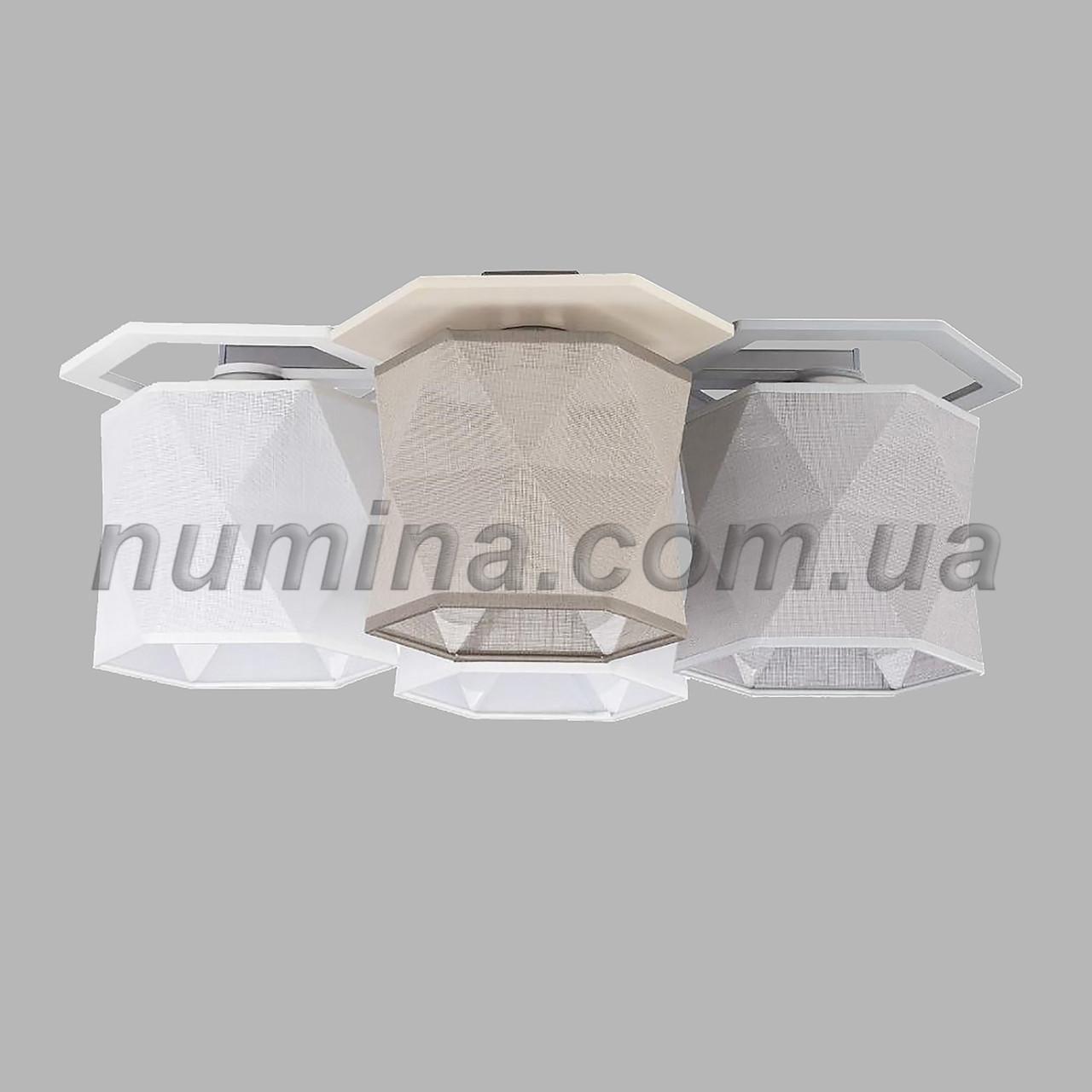 Люстра потолочная на четыре лампы 29-S259/4A CR+BR+MIX
