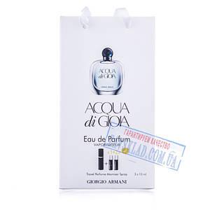 Подарунковий набір парфумів Giorgio Armani acqua di gioia 45 мл