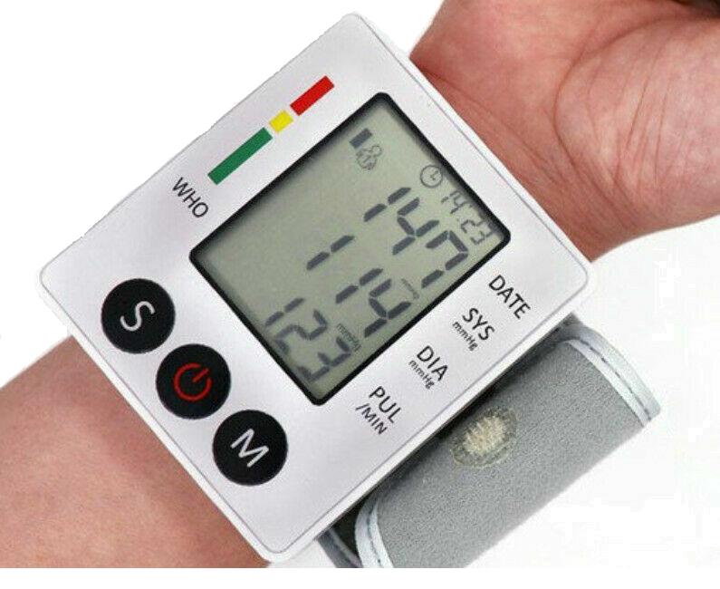 Автоматический тонометр на запястье ZK-W862YD для измерения давления и пульса